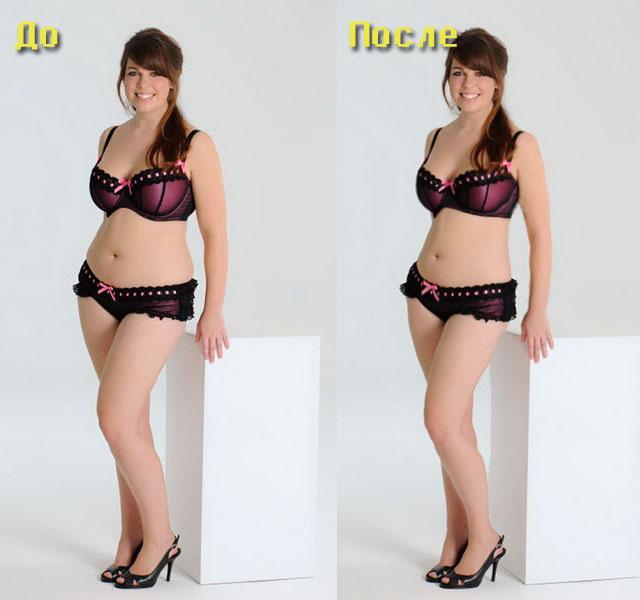 как похудеть в фотошопе уроки