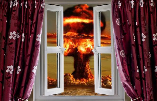 Ядерный взрыв за окном