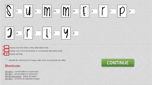 как найти по картинке шрифт
