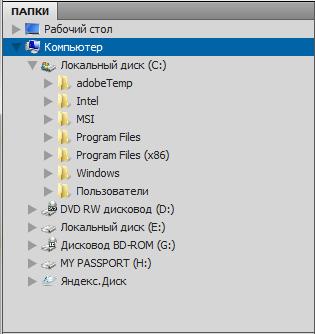 panel'_papki_v_Adobe_Bridge