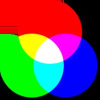 Цвета RGB