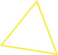 Контур равностороннего треугольника