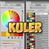 Описание и использование палитры Kuler в фотошопе